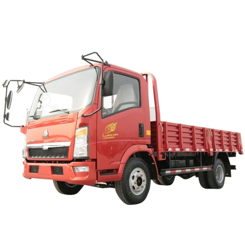 Sinotruk HOWO 4x2 6 wheeler light cargo truck