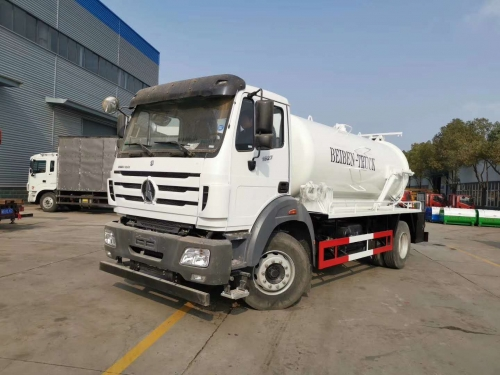 Beiben truck and oil tanker ship to Nigeria