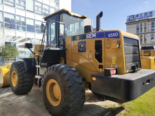 SEM -CAT 636D 655D WHEEL LOADER WITH CHEAP PRICE