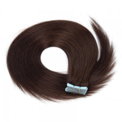 Cheap Real Remy Human Hair Balayage Hair double partial Tape in Hair Extensions weave Brown Blonde 24 inch
