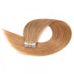 Remy Human Hair Extensions Application Straight Hair styling Bundle Tape In Human Hair Extensions 20 Inches