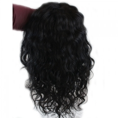 Brazilian Lace Front Wigs 300% Full Density Unprocessed Human Hair  Bleached Knots With Natural Baby Hair