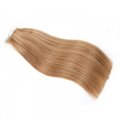 Sticker Tape In Human Hair Extensions Straight 27# blonde Tape In Extensions 20pcs Remy Tape In Hair Extensions 22 inch