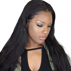 High Quality Silk Base Human Hair Lace Wigs Pre Plucked Hair Line Natural Baby Hair Around