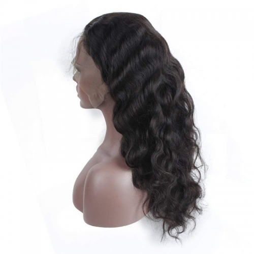 PrePlucked 150% Density 360 Lace Frontal Wigs for Black Woman Peruvian Body Wave Lace Front Human Hair Wigs with Baby Hair
