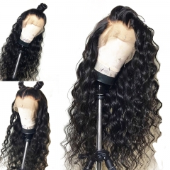 Curly Full Lace Wigs 100 Human Hair No Mixed Natural Black Brazilian Hair Wig Bleached Knots With Natural Baby Hair Pre Plucked Hairline