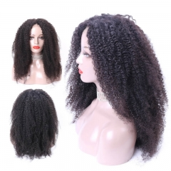 Human Hair Wig For Black Women Natural Color 360 Human Hair Lace Wigs Curly Brazilian Hair Can Be Dyed Pre Plucked Natural Hair Line Bleached Knots