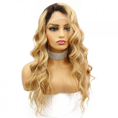 1B 27 Color Honey Blonde Lace Front Wig Brazilian Loose Wave Ombre Human Hair Wigs Pre Plucked Hair Line With Natural Baby Hair