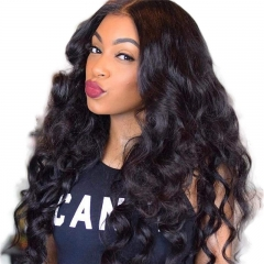 13x6 Lace Wig Human Hair Preplucked Hairline Brazilian virgin Unprocessed Loose Wave Human Hair Wigs with Baby Hair Glueless Lace Front Wigs Human Hai