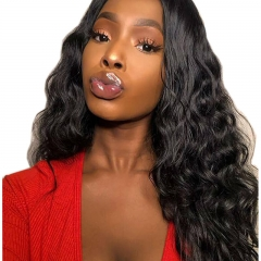 Full Lace Wigs Body Wave with Baby Hair Pre Plucked Hairline 100% Unprocessed Brazilian Human Hair Lace Front Wig Pre Plucked