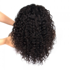 Pre Plucked Curly 150% Density Lace Front Wig With Natural Baby Hair Bob Lace Front Human Hair Wigs