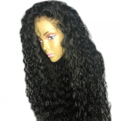 150% 360 Lace Frontal Wigs Water Wave Human Hair Lace Front Wigs Pre Plucked With Baby Hair For Women  Brazilian Remy Hair