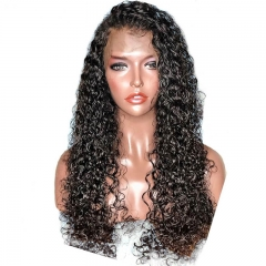 150% 360 Lace Frontal Wigs Curly Human Hair Lace Front Wigs Pre Plucked With Baby Hair For Women  Brazilian Remy Hair