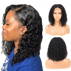 Curly Human Hair Wig Brazilian Bob Wig Lace Front Human Hair Wigs For Black Women Pre plucked With Baby Hair Remy Lace Wig