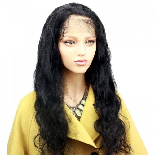 Body Wave 360 Lace Frontal Wig Pre Plucked With Baby Hair For Women 150 Density Brazilian Remy Hair Lace Wigs Bleached Knots