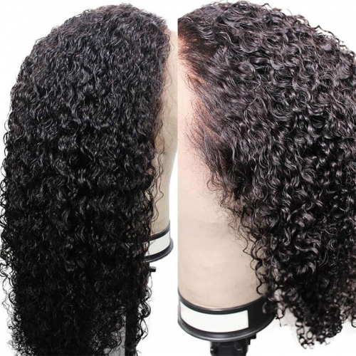Lace Front Wigs Pre Plucked 130% Density Brazilian Remy Hair For Women Curly Full Lace Wig With Baby Hair Natural Hairline