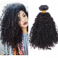 Brazilian Hair 3B3C Kinky Curly Virgin Hair Curly Afro Weave Human Hair Extensions 3 Bundles Hair Products