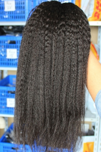 Unprocessed Hair Bundles Kinky Straight Weave Human Hair Weave Cheap Brazilian Hair 1 or 3 pcs Lot Brazilian Weave