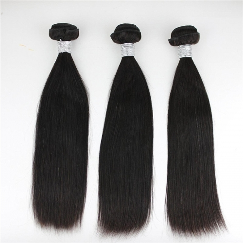 Virgin Brazilian Human hair extension Straight