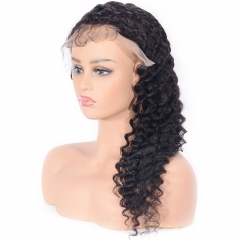 Fake scalp cap 13X6 Lace Front Wig With Baby Hair Virgin Human Hair Lace wig
