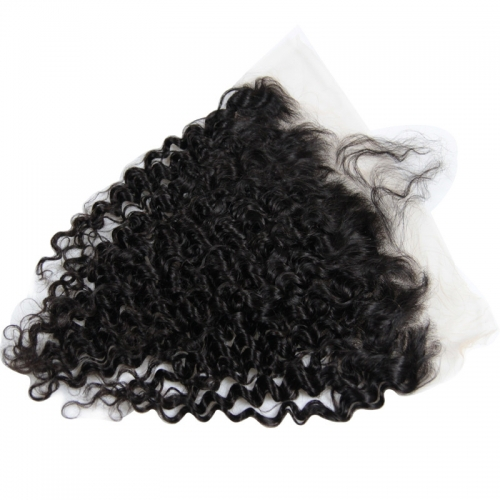 Wholesale Deep Wave 13x4 Lace Frontal Brazilian Human Hair Ear To Ear Lace Frontals
