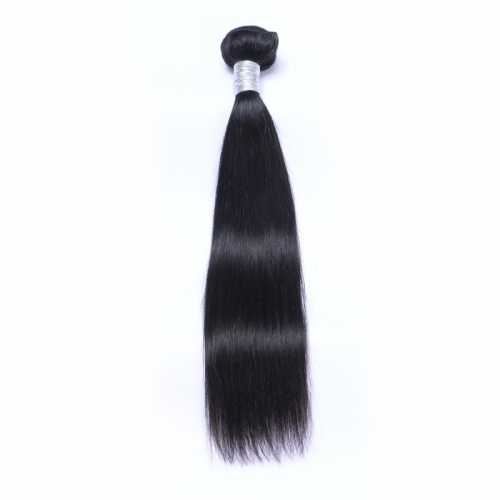 Wholesale Exclusive Straight Hair Brazilian 100% Virgin Human Hair Weave 1 Bundles (100grams/bundle)