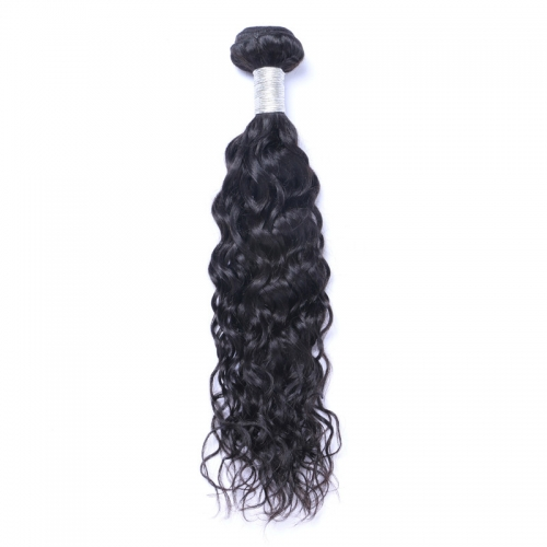 Wholesale Exclusive Water Wave Brazilian 100% Virgin Human Hair Weave 1 Bundles (100grams/bundle)