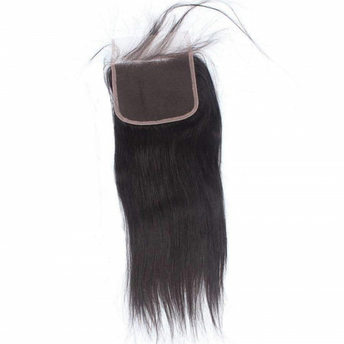 Wholesale 5X5 transparent HD Swiss Thinner Lace Closure Free Part Straight 100% Human Hair