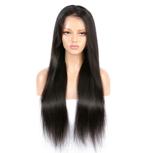 Wholesale 13x4 Lace Front Wig Free Part Stragiht 100% Human Hair