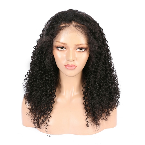 Wholesale 13x4 Lace Front Wig Exotic Curly 100% Human Hair