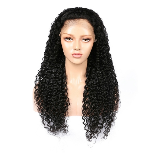 Wholesale 13x4 Lace Front Wig Free Part Deep Curly 100% Human Hair