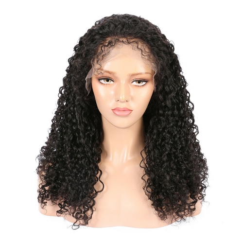 Wholesale 13x4 Lace Front Wig Jerry Curly 100% Human Hair