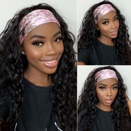 Wholesale Headband Wigs Human Hair Half Wigs No Plucking Wigs For Women