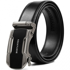 BOSTANTEN Belts for Men Ratchet Dress Belt with Automatic Buckle