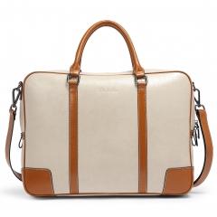 f9eaf8bf4 BOSTANTEN Leather Briefcase Messenger Satchel Bags Laptop Handbags for Women