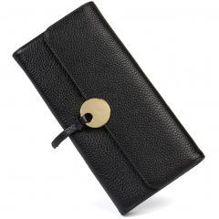 BOSTANTEN Women Leather Wallet Clutch Purses Card Cash Holder Long Wallets