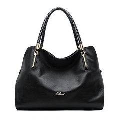 Cluci Leather Handbags for Women Purses Shoulder Tote Top-Handle Bags