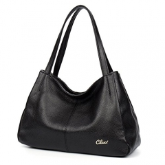 Cluci Leather Handbags for Women Genuine Purse and handbag Top-handle Tote Shoulder Bags