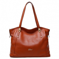 Cluci Women Leather Handbag Tote Shoulder Bag Purse