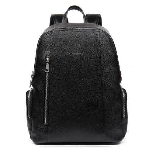 BOSTANTEN Leather Backpack School Laptop Travel Camping Shoulder Bag Gym Sports Bags For Men