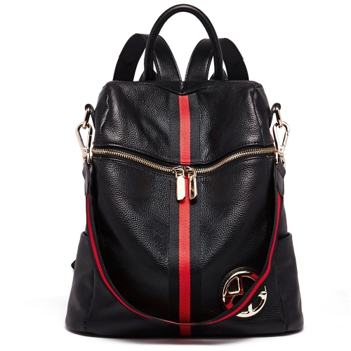 BOSTANTEN Geniune Leather Backpack Purse Fashion Casual College Shoulder Bags for Women