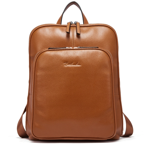 BOSTANTEN Genuine Leather Backpack Purse Casual College Travel Bags for Women