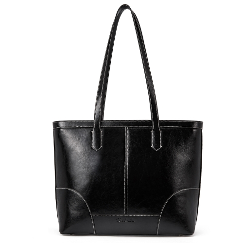 BOSTANTEN Women Leather Handbag Designer Tote Shoulder Purses Top-handle Bag