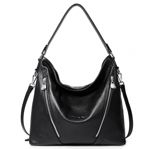 BOSTANTEN Women Leather Handbag Designer Shoulder Hobo Purses Crossbody Bag