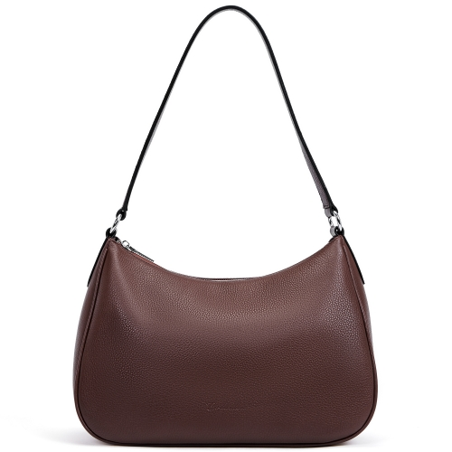 BOSTANTEN Women Leather Hobo Handbag Designer Shoulder Ladies Purses and Handbags
