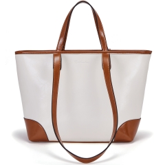 BOSTANTEN Women Handbags Leather Tote Bag Designer Shoulder Top-handle Bags