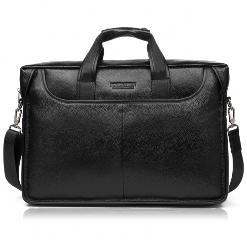 BOSTANTEN Leather Briefcase Laptop Case Handbag Business Bags for Men