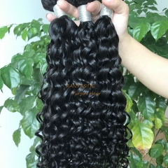 Deep Curly Natural/1B Color