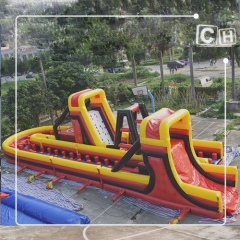 funny inflatable obstacle