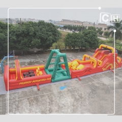 inflatable obstacle
